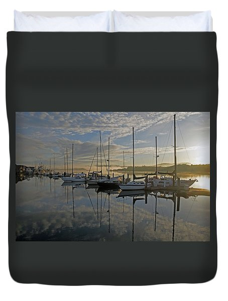 The Blue And Beyond Duvet Cover