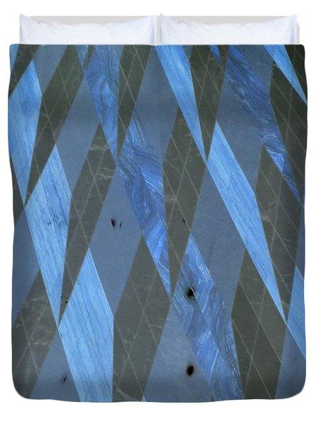 The Blue Dimension Duvet Cover