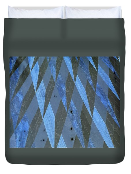 The Blue Dimension Duvet Cover