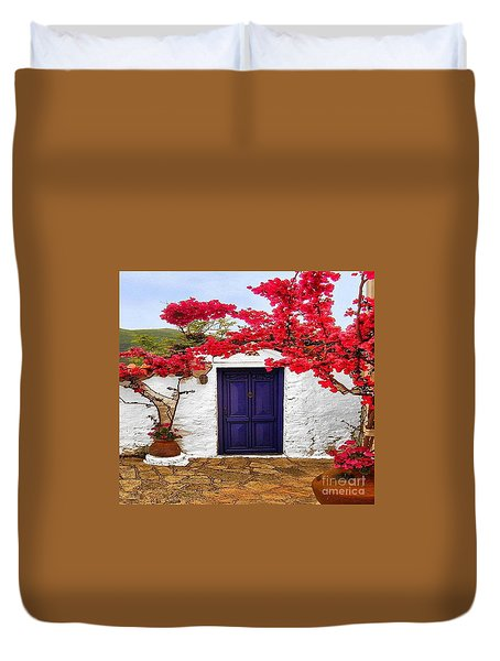 The Blue Door Duvet Cover
