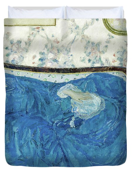 The Blue Gown, 1917  Duvet Cover