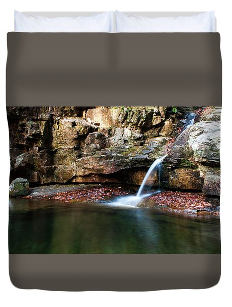 The Blue Hole In November #1 Duvet Cover