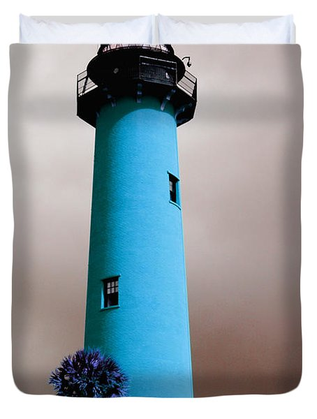 The Blue Lighthouse Duvet Cover
