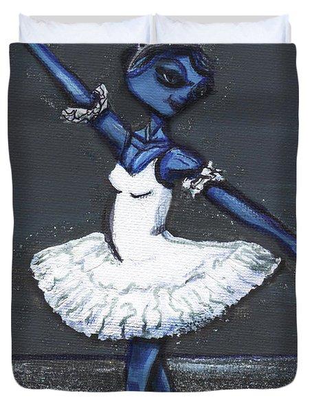 The Blue Swan Duvet Cover