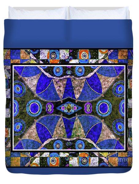 The Blue Vibrations Duvet Cover