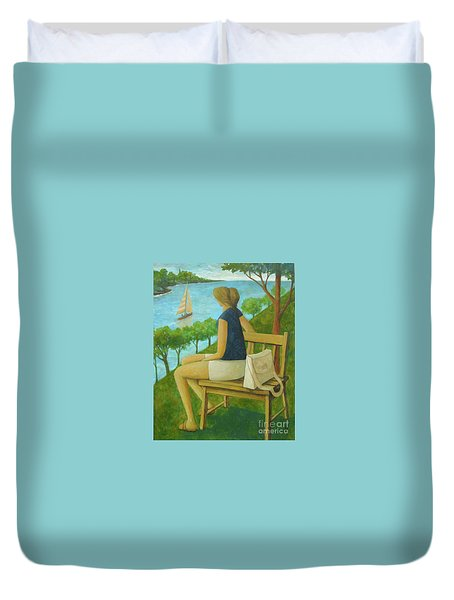 The Bluff Duvet Cover by Glenn Quist