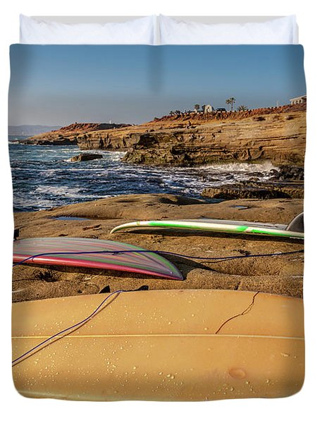 The Boards Duvet Cover