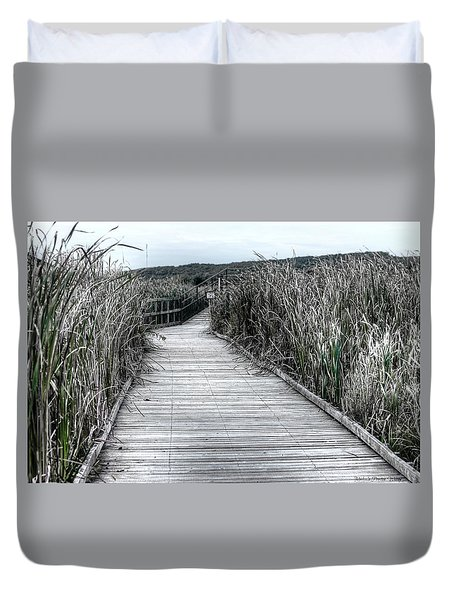 The Boardwalk Duvet Cover