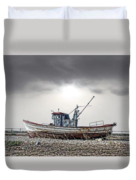 The Boat Duvet Cover