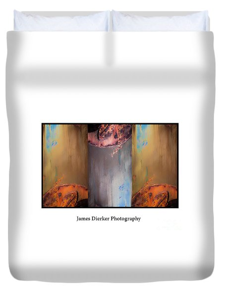 The Boat Duvet Cover by James Dierker