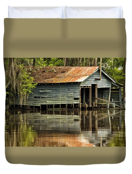 The Boathouse Duvet Cover