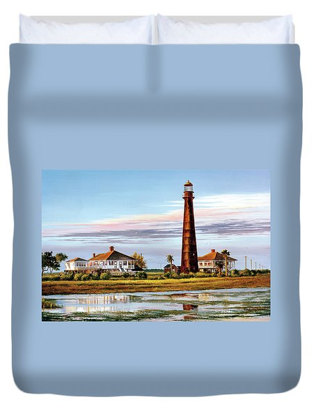 The Bolivar Lighthouse Duvet Cover