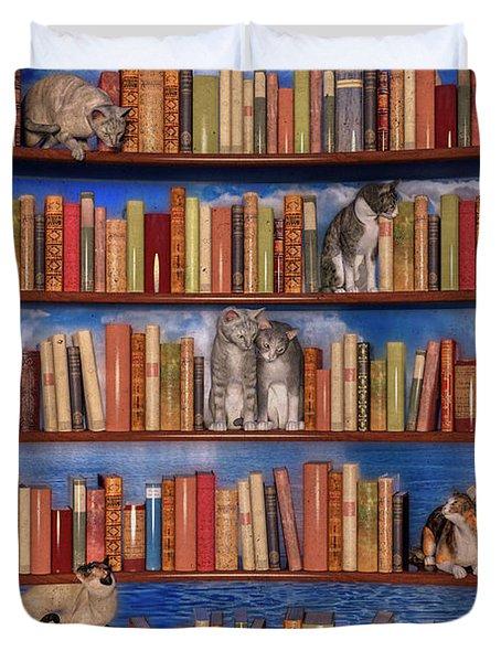 The Book Club Duvet Cover