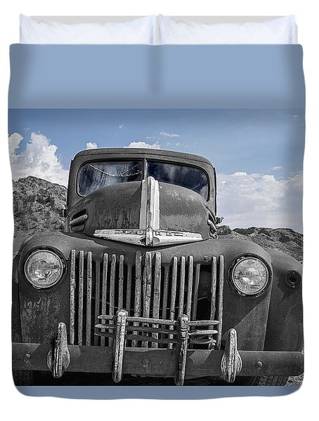 The Boss Duvet Cover
