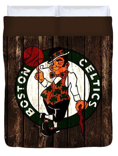 The Boston Celtics 2d Duvet Cover