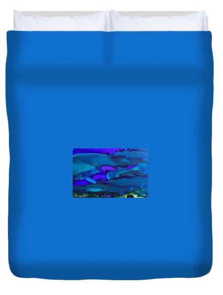 The Bottom Of The Sea Duvet Cover