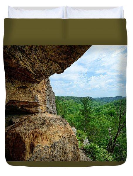 The Boulders Edge Duvet Cover