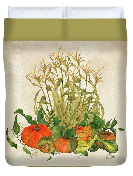 The Bountiful Harvest Duvet Cover