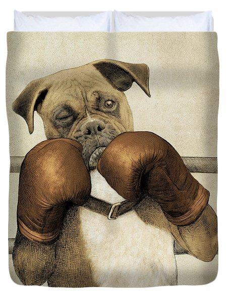 The Boxer Duvet Cover