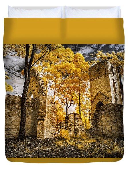 The Boydtown Church Duvet Cover