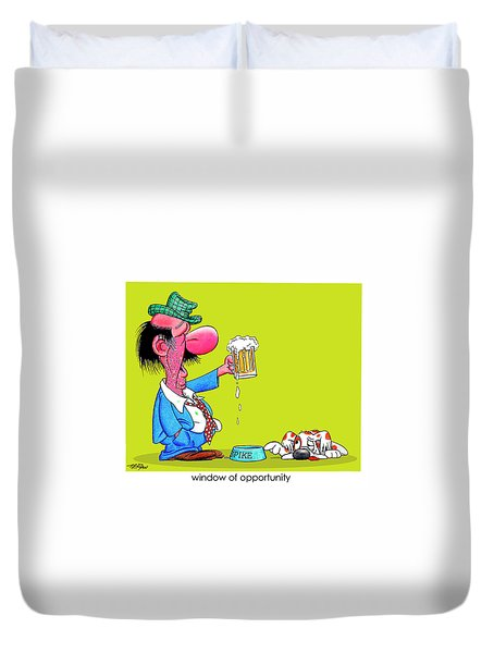 The Bozo Collection 2 Duvet Cover