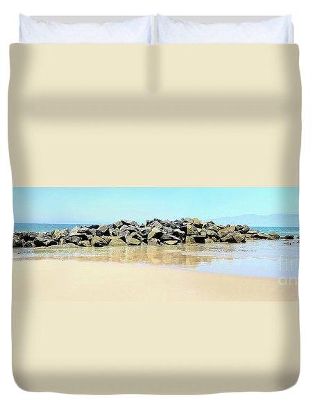 The Breakwater Duvet Cover