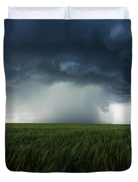 The Breath Before The Plunge Duvet Cover