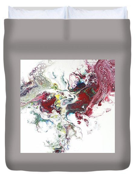 The Breath Of The Crimson Dragon Duvet Cover