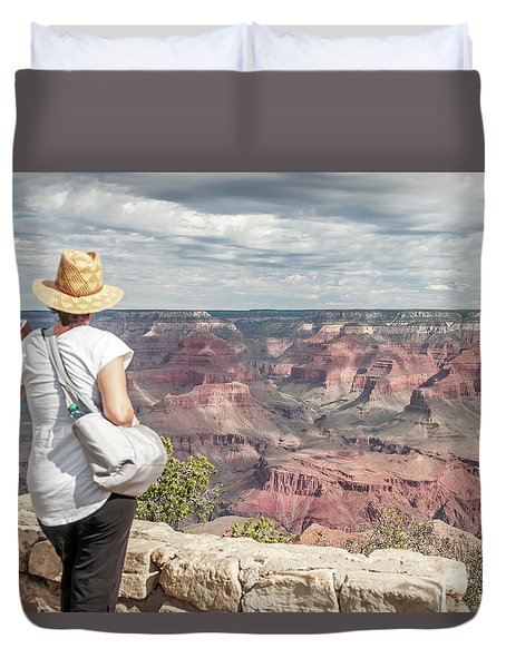 The Breathtaking View Duvet Cover