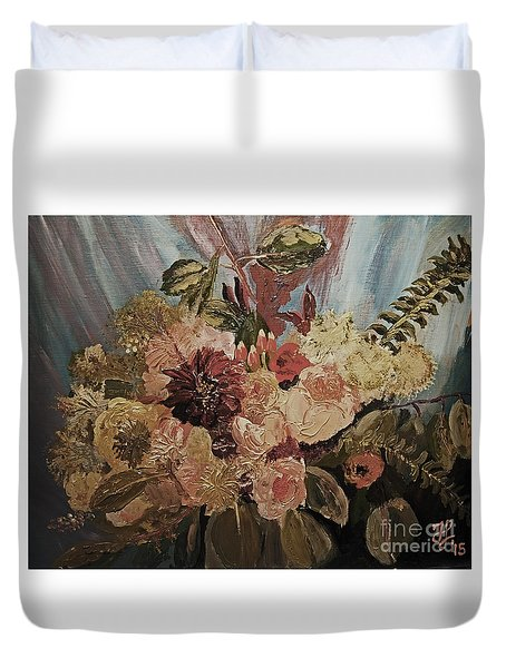 The Bridal Bouquet Duvet Cover