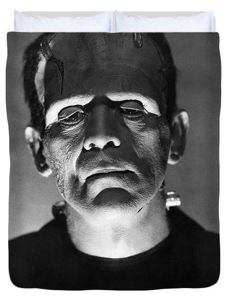The Bride Of Frankenstein Duvet Cover