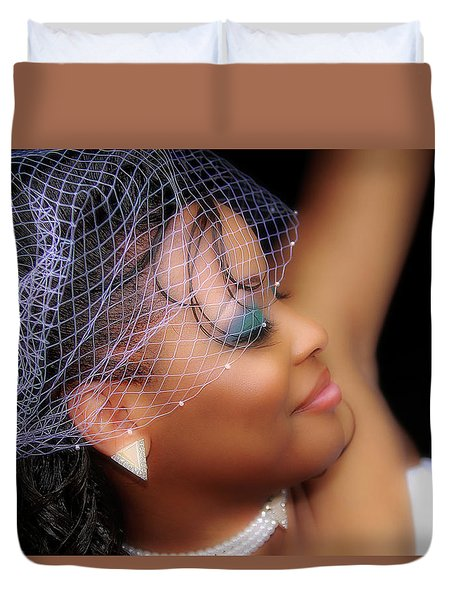 The Bride Duvet Cover