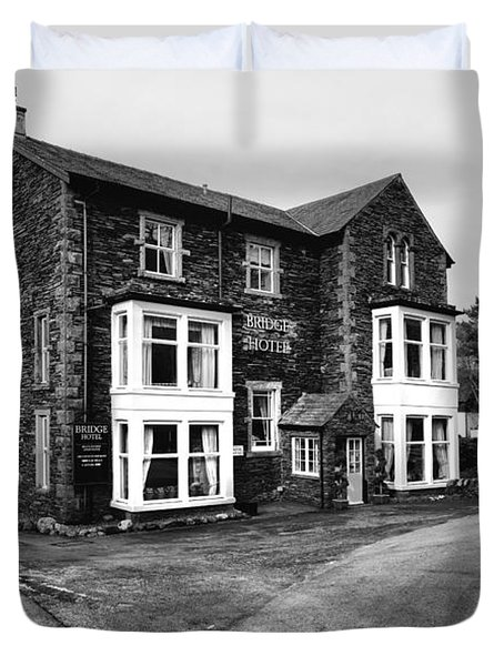 The Bridge Hotel, Buttermere Duvet Cover
