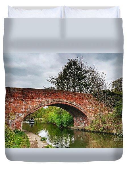 The Bridge Duvet Cover by Isabella F Abbie Shores FRSA