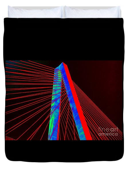 The Bridge Duvet Cover
