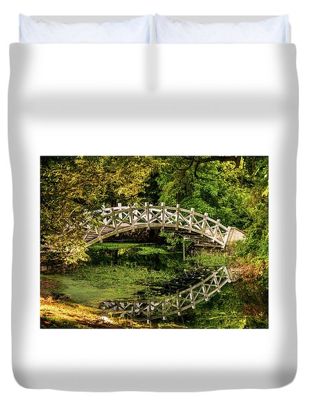 The Bridge Duvet Cover by Martina Thompson