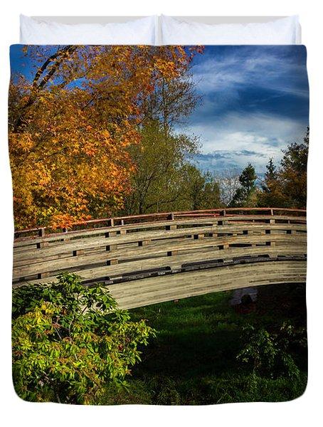 The Bridge To The Garden Duvet Cover