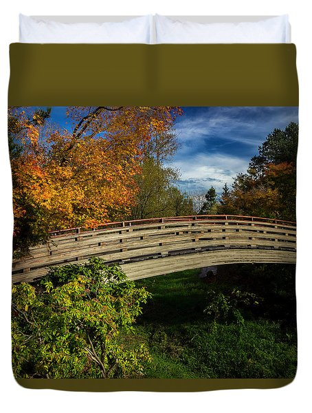 The Bridge To The Garden Duvet Cover
