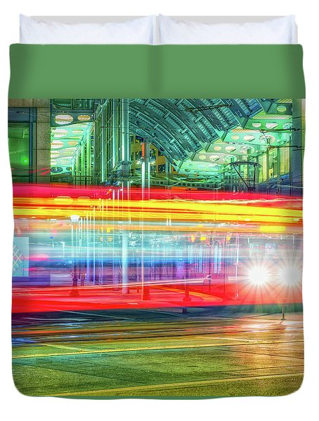 The Bright Lights Duvet Cover