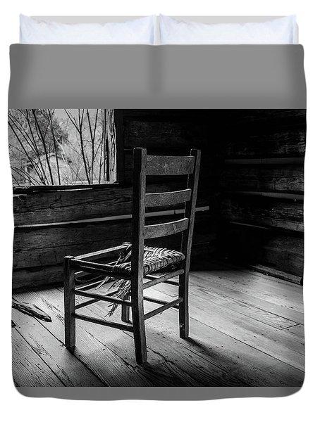 The Broken Chair Duvet Cover