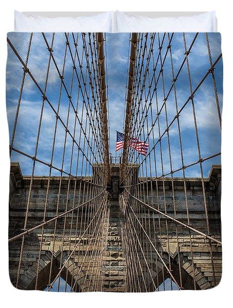 The Brooklyn Bridge Duvet Cover