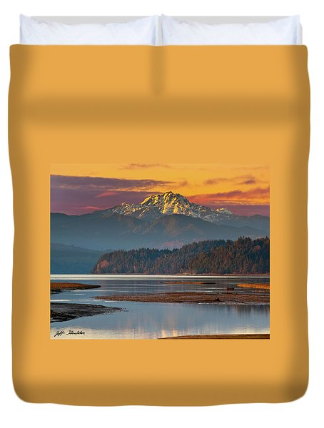 The Brothers From Hood Canal Duvet Cover