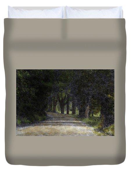 The Buffalo Road  Duvet Cover