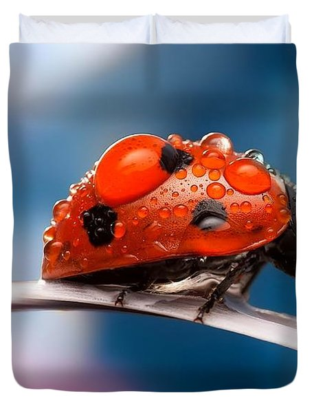 The Bug Duvet Cover