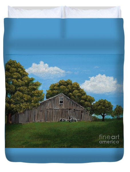 The Buggy Shed Duvet Cover