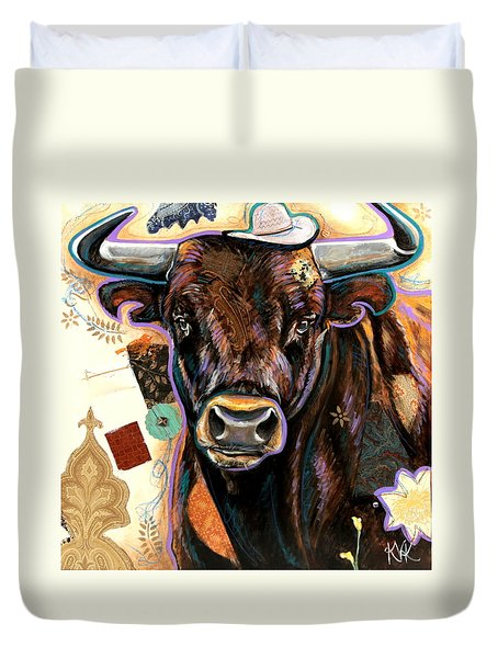 The Bull Duvet Cover
