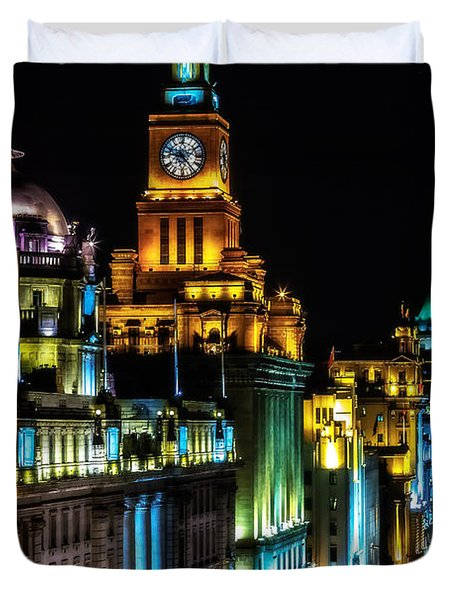 The Bund Duvet Cover