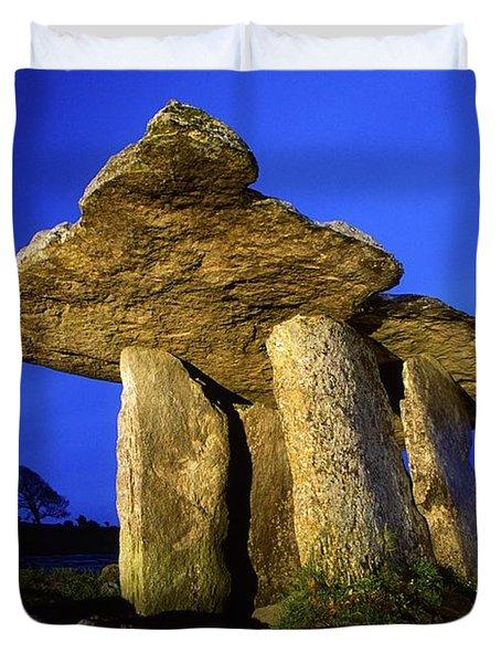 The Burren, County Clare, Ireland Duvet Cover