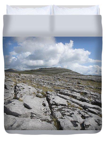 The Burren National Park Duvet Cover
