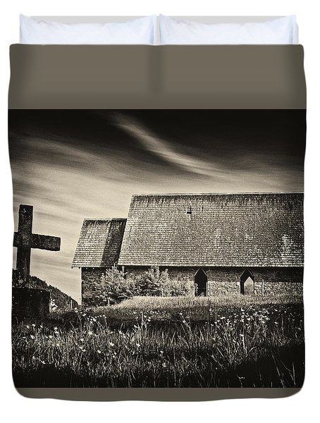 The Butter Church - 365-41 Duvet Cover